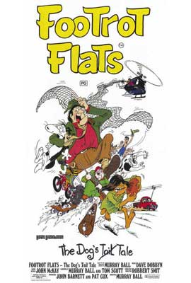 Footrot Flats: The Dog's Tale - 27 x 40 Movie Poster - Style A