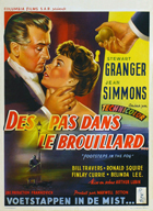 Footsteps in the Fog - 27 x 40 Movie Poster - Belgian Style A