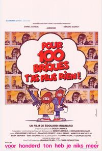 For 200 Grand, You Get Nothing Now - 27 x 40 Movie Poster - Belgian Style A