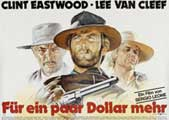 For a Few Dollars More - 11 x 17 Movie Poster - Swiss Style F