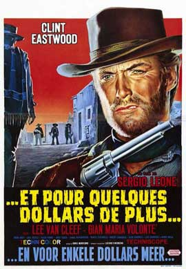 For a Few Dollars More - 11 x 17 Movie Poster - French Style A