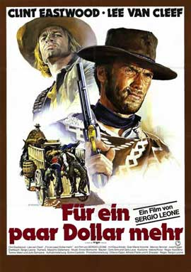 For a Few Dollars More - 11 x 17 Movie Poster - German Style A