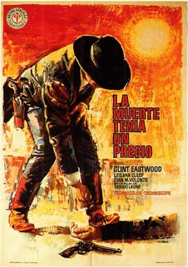 For a Few Dollars More - 11 x 17 Movie Poster - Spanish Style A