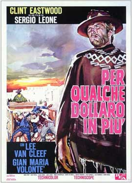 For a Few Dollars More - 11 x 17 Movie Poster - Italian Style A