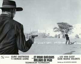 For a Few Dollars More - 11 x 14 Poster French Style G