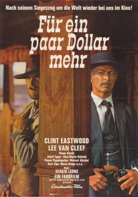 For a Few Dollars More - 11 x 17 Movie Poster - German Style B