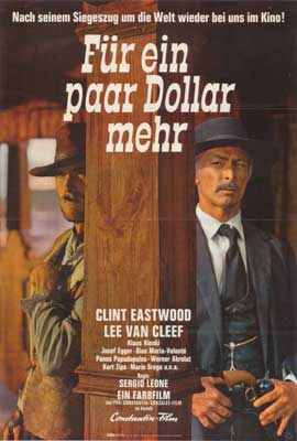 For a Few Dollars More - 27 x 40 Movie Poster - German Style A