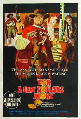 For a Few Dollars More - 27 x 40 Movie Poster - Australian Style A