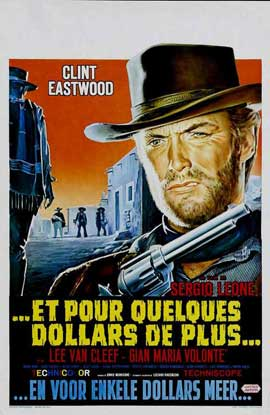 For a Few Dollars More - 11 x 17 Movie Poster - Belgian Style A