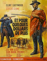 For a Few Dollars More - 43 x 62 Movie Poster - French Style A