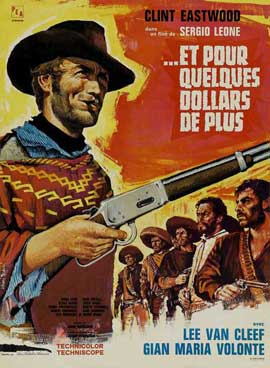 For a Few Dollars More - 27 x 40 Movie Poster - French Style C