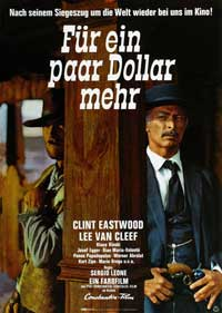For a Few Dollars More - 11 x 17 Movie Poster - German Style C