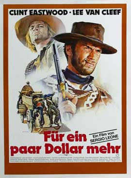 For a Few Dollars More - 11 x 17 Movie Poster - German Style D