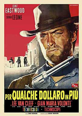 For a Few Dollars More - 11 x 17 Movie Poster - Italian Style C