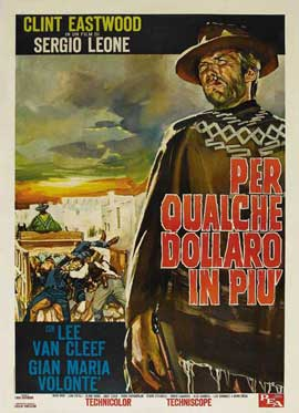 For a Few Dollars More - 27 x 40 Movie Poster - Italian Style C
