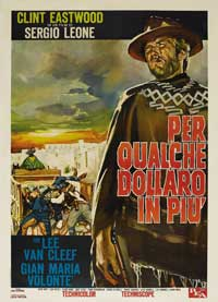 For a Few Dollars More - 43 x 62 Movie Poster - Italian Style B