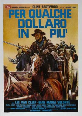 For a Few Dollars More - 11 x 17 Movie Poster - Italian Style E