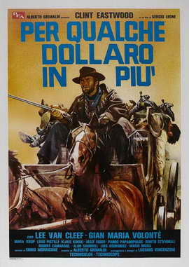 For a Few Dollars More - 27 x 40 Movie Poster - Italian Style D