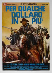 For a Few Dollars More - 43 x 62 Movie Poster - Italian Style C