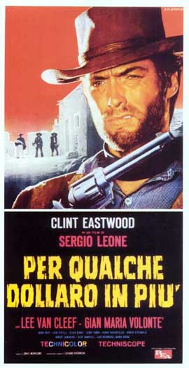 For a Few Dollars More - 11 x 17 Movie Poster - Italian Style G