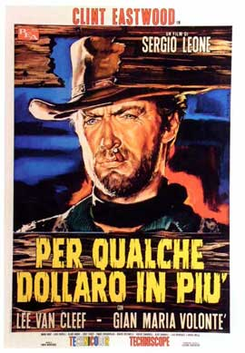 For a Few Dollars More - 11 x 17 Movie Poster - Italian Style F