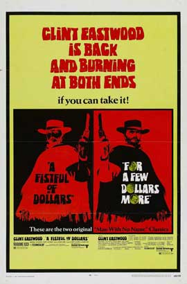 For a Few Dollars More - 11 x 17 Movie Poster - Style B