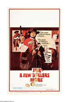 For a Few Dollars More - 27 x 40 Movie Poster - Style B
