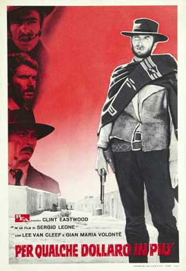 For a Few Dollars More - 27 x 40 Movie Poster - Italian Style G