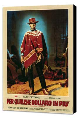 For a Few Dollars More - 11 x 17 Poster - Foreign - Style A - Museum Wrapped Canvas