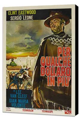 For a Few Dollars More - 11 x 17 Movie Poster - Italian Style D - Museum Wrapped Canvas