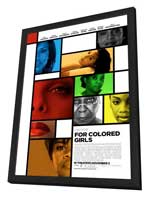 For Colored Girls - 11 x 17 Movie Poster - Style J - in Deluxe Wood Frame