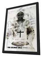 For Colored Girls - 27 x 40 Movie Poster - Style E - in Deluxe Wood Frame