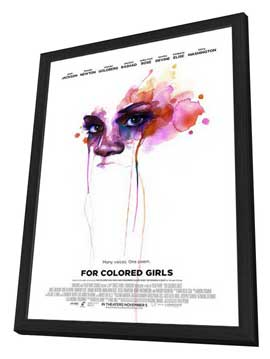 For Colored Girls - 11 x 17 Movie Poster - Style I - in Deluxe Wood Frame