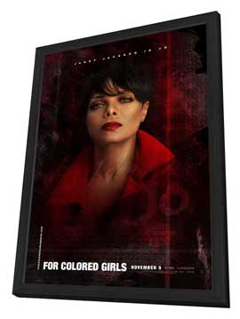 For Colored Girls - 27 x 40 Movie Poster - Style F - in Deluxe Wood Frame