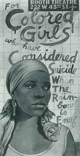For Colored Girls Who Have Considered Suicide/When the Rainbow is Enuf (Broadway) - 11 x 17 Poster - Style A