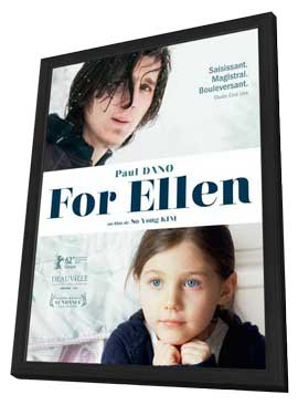 For Ellen - 11 x 17 Movie Poster - French Style A - in Deluxe Wood Frame