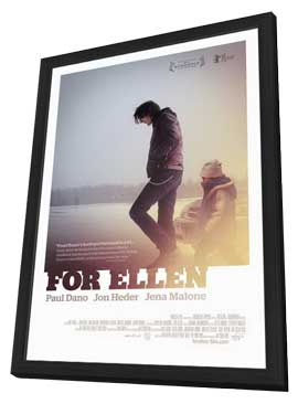 For Ellen - 27 x 40 Movie Poster - Style A - in Deluxe Wood Frame