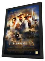 For Greater Glory - 11 x 17 Movie Poster - Spanish Style A - in Deluxe Wood Frame