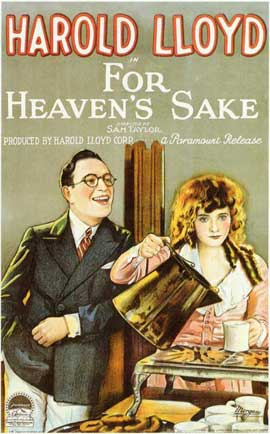For Heaven's Sake - 11 x 17 Movie Poster - Style A