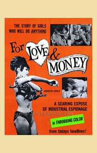For Love and Money - 27 x 40 Movie Poster - Style A