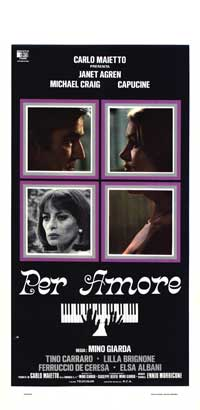 For Love - 13 x 28 Movie Poster - Italian Style A