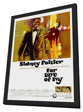 For Love of Ivy - 11 x 17 Movie Poster - Style A - in Deluxe Wood Frame