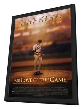 For Love of the Game - 11 x 17 Movie Poster - Style A - in Deluxe Wood Frame