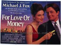 For Love or Money - 11 x 17 Movie Poster - Style B