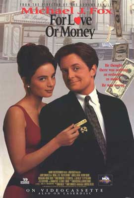 For Love or Money - 11 x 17 Movie Poster - Style C