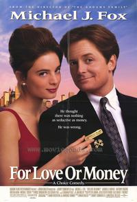 For Love or Money - 27 x 40 Movie Poster - Style A