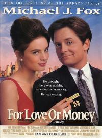 For Love or Money - 43 x 62 Movie Poster - Bus Shelter Style A