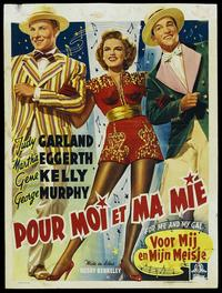 For Me and My Gal - 27 x 40 Movie Poster - Belgian Style D