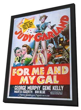 For Me and My Gal - 11 x 17 Movie Poster - Style B - in Deluxe Wood Frame