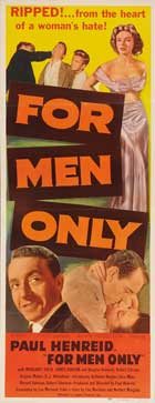 For Men Only - 14 x 36 Movie Poster - Insert Style A